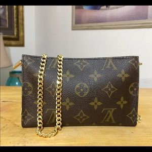Louie Vuitton Monogram PM pouch